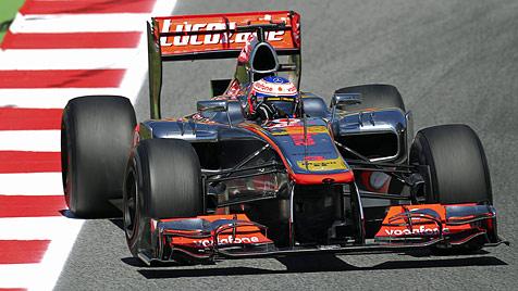 """""""Großartige Reise"""" - Button fährt sein 300. Rennen (Bild: EPA)"""