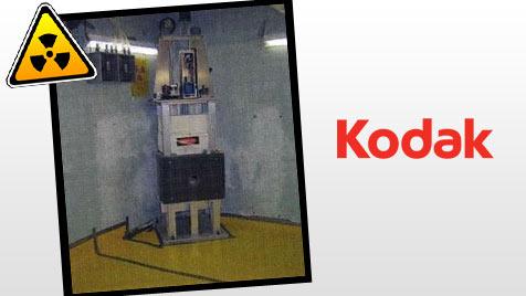 USA: Kodak besaß geheimen Atomreaktor (Bild: Nuclear Regulatory Commission, Kodak, krone.at-Grafik)