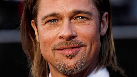 Brad Pitt: Antrag aus Angst um Angelinas Leben (Bild: dapd)