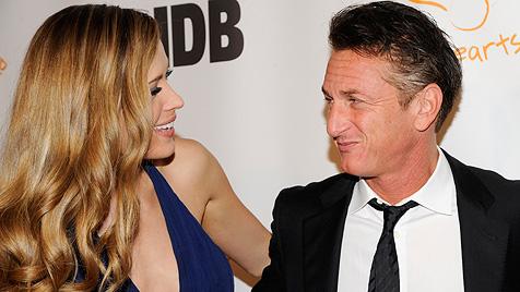 Sean Penn und Petra Nemcova wieder ein Paar (Bild: dapd)