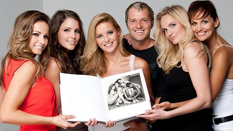 """F�nf sch�ne """"Miss Austrias"""" ganz so, wie Gott sie schuf (Bild: Manfred Baumann)"""