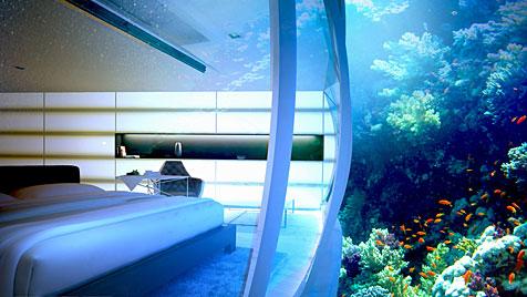 Polnische Firma will ein Unterwasser-Hotel bauen (Bild: Deep Ocean Technology)