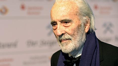 """Graf Dracula"" Christopher Lee wurde 90 Jahre alt (Bild: dapd)"