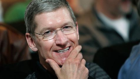 Apple-Boss ist der bestbezahlte Firmenchef der USA (Bild: dapd)