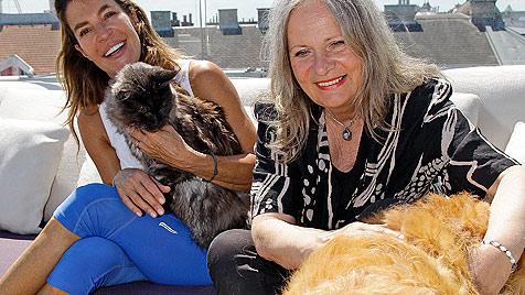 Fiona Grasser spricht über ihre große Tierliebe (Bild: Reinhard Holl)