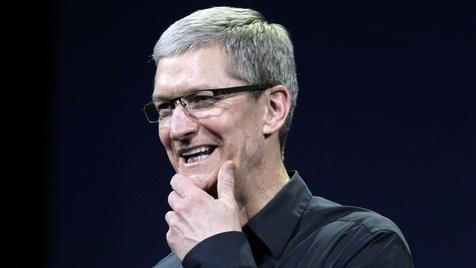 Apple-Chef Cook verzichtet auf 75 Millionen Dollar (Bild: AP)