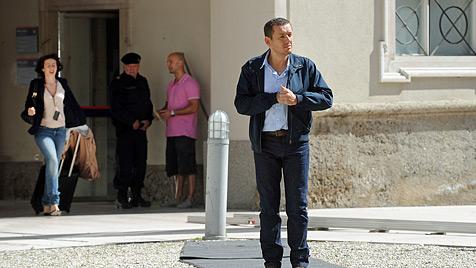 'Sch'tis'-Star Dany Boon dreht neue Komödie in Salzburg (Bild: APA/BARBARA GINDL)