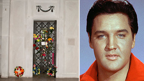 "Grabstätte von Elvis Presley in Memphis wird versteigert (Bild: Julien""s/AP)"