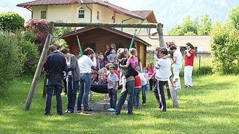 Feuer in Salzburger Kindergärten - Knirpse evakuiert (Bild: Andreas Kreuzhuber)
