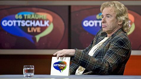 Gottschalk gibt sich gelassen vor Ende seiner ARD-Show (Bild: dapd)