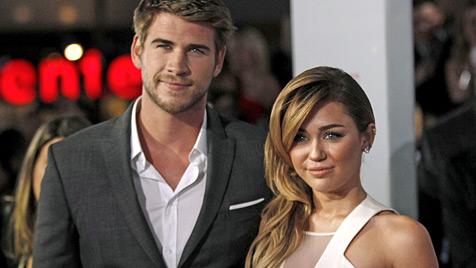 Miley Cyrus und Liam Hemsworth haben sich verlobt (Bild: dapd)