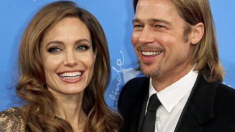Angelina Jolie will eine Hochzeit ohne Bubenstreiche (Bild: dapd)