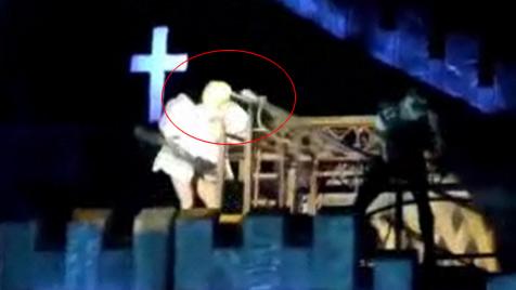 """Lady Gaga bei Show von Tänzer mit Stange """"geschlagen"""" (Bild: Zoom.In)"""