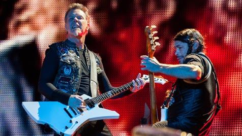 Metallica-Kraftakt zum gro�en Nova-Rock-Finale (Bild: Andreas Graf)
