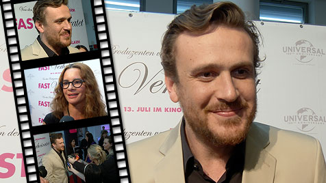 """How I Met Your Mother""-Star Segel gastierte in Wien (Bild: krone.tv)"