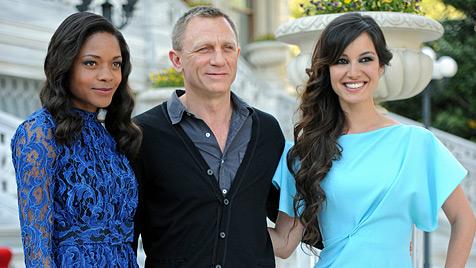 Bond-Girl Berenice Marlohe will Daniel Craig knutschen (Bild: dapd)