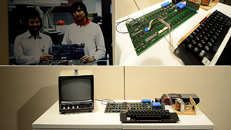 """""""Apple I""""-Computer für 374.000 Dollar versteigert (Bild: AFP)"""