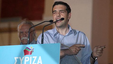 Syriza-Chef Alexis Tsipras (Bild: EPA)