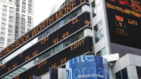 Einzelner Banker f�r Facebook-Flop verantwortlich (Bild: AP)