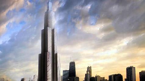 Firma will in nur 90 Tagen welthöchstes Gebäude errichten (Bild: Broad Sustainable Building)