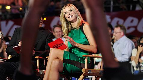 Heidi Klum bei Start von Show angeblich ohne Unterwäsche (Bild: dapd)