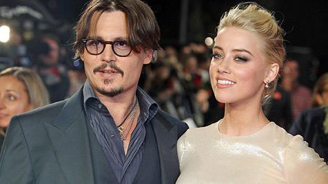 Depp und Paradis: Ist Amber Heard Trennungsgrund? (Bild: dapd)
