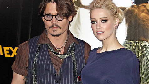 Amber Heard hat für Johnny Depp Freundin verlassen (Bild: dapd)