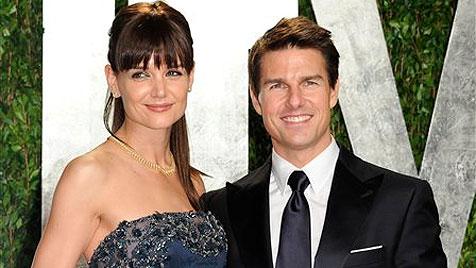 Tom Cruise und Katie Holmes sind offiziell geschieden (Bild: AP)