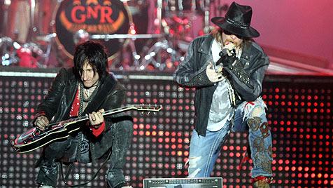 Guns N' Roses am Schwarzlsee: Immer noch dornig (Bild: Sepp Pail)
