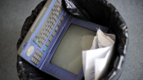 Frankreich nimmt Internet-Vorgänger Minitel vom Netz (Bild: EPA)