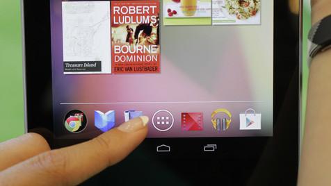 Google verkauft Tablet Nexus 7 zum Selbstkostenpreis (Bild: AP)