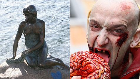 """Es gibt weder Meerjungfrauen noch Zombies!"" (Bild: dapd, EPA)"