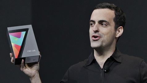 Asus gibt Euro-Preis für Google-Tablet Nexus 7 bekannt (Bild: AP)