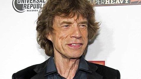 Biograf: Mick Jagger stellte jahrelang Angelina Jolie nach (Bild: dapd)