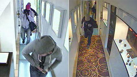 Juwelier in Wels von bewaffneter Bande überfallen (Bild: Polizei OÖ)