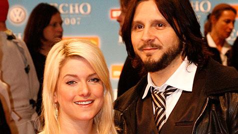 Sängerin Jeanette Biedermann hat sich getraut (Bild: dapd)