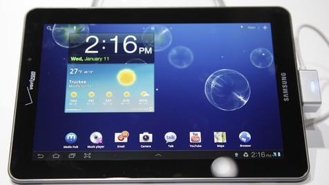 "Galaxy Tab nicht ""cool"" genug für iPad-Kopie (Bild: AP)"