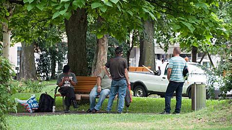 Mann starb in Linz nach Prügelei mit vier Bettlern (Bild: Werner Kerschbaummayer)