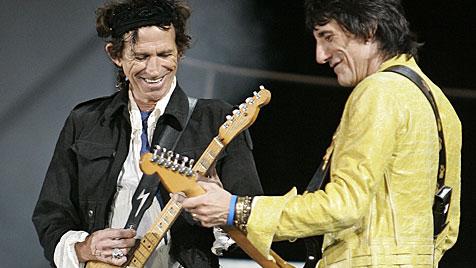 Die Rolling Stones feiern 50-jähriges Bestehen (Bild: AP)
