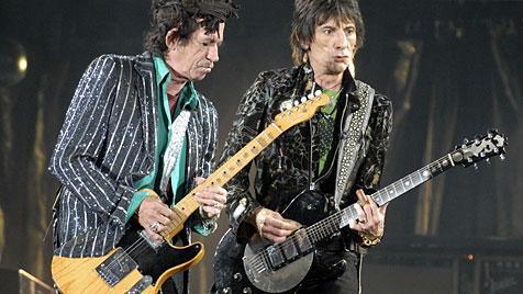 Die Rolling Stones feiern 50-jähriges Bestehen (Bild: dapd)