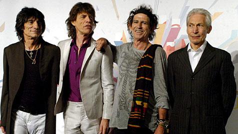 Die Rolling Stones feiern 50-jähriges Bestehen (Bild: EPA)