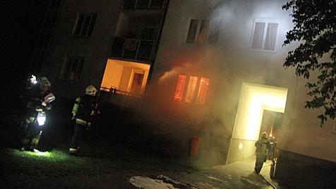 Feuerteufel schlug in Wels zum zwölften Mal zu (Bild: Matthias Lauber)