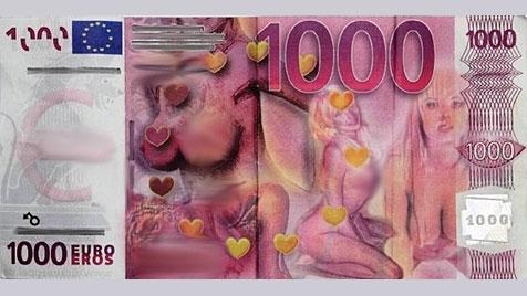 Tscheche tauschte Spaßgeld in echte Währung um (Bild: APA/dpa/Tschechische Polizei)
