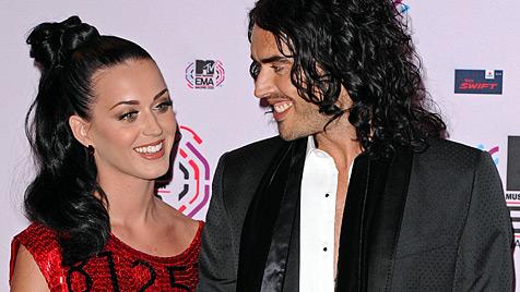 Katy Perry und Russell Brand nun offiziell geschieden (Bild: dapd)