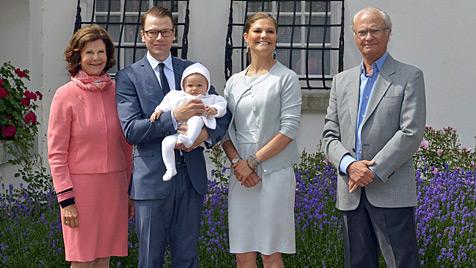 Prinzessin Victoria: Erster Geburtstag mit Tochter Estelle (Bild: EPA)