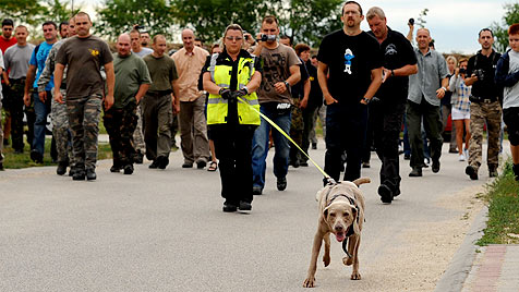 Heimische Expertin schult Ungarns Polizeihundestaffel (Bild: Moments in Time)