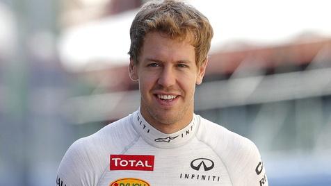 """Vettel gesteht: """"Ferrari ist ein geiles Rennteam"""" (Bild: EPA)"""