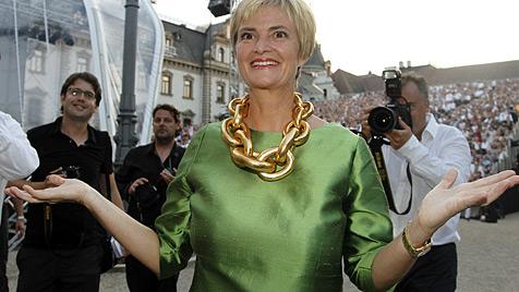 Gloria von Thurn und Taxis' Traumrolle: Fürstin (Bild: dapd)