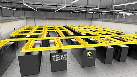 Neue Kühlmethode für schnellsten Rechner Europas (Bild: Leibniz-Rechenzentrum)