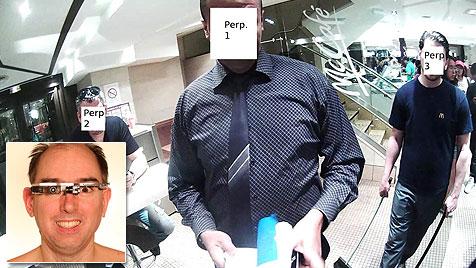 Videobrille irritiert Mitarbeiter: Angriff auf Professor (Bild: Steve Mann, eyetap.blogspot.ca)